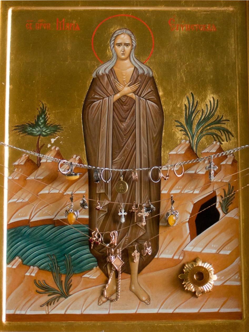 фото икона мария египетская